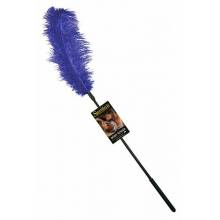 Ostrich Tickler - Royal Blue