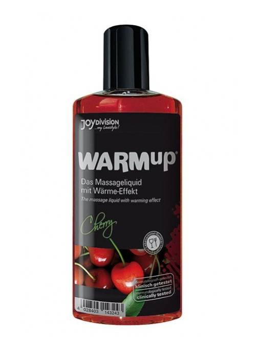 WARMup Aceite de masaje efecto calor, Cereza 150ml